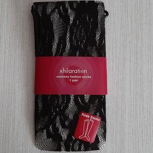 Xhilaration fashion lace knee socks